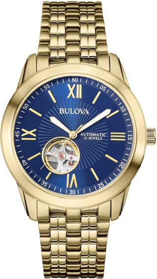 Relógio Bulova Masculino Automático Wb32004z