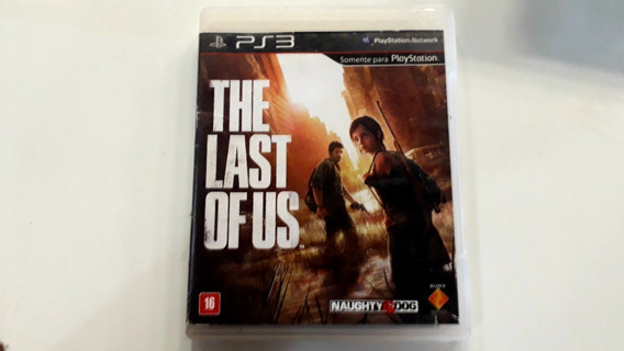 Jogo Ps3 The Last Of Us (mídia Física)