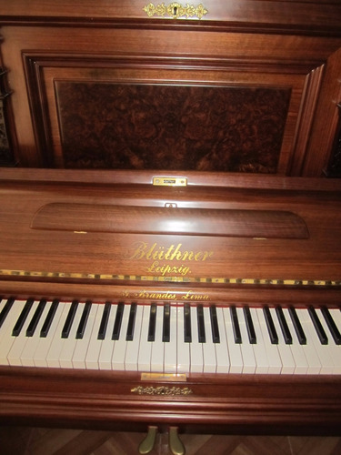 Piano Vertical  Aleman De  Concierto  Bluthner