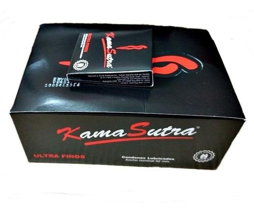 Preservativos Kamasutra. Presentación 24 Cajitas X 3