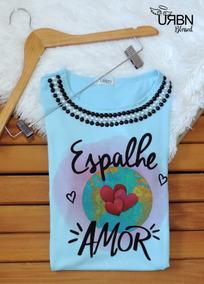 Kit 10 Camisetas Femininas T-shirts Gospel Evangélica