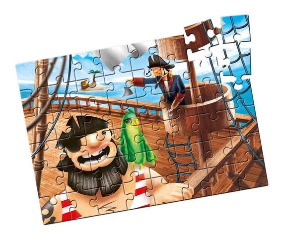 Quebra-cabeça Grandão Piratas 48 Peças - Estrela Estrela