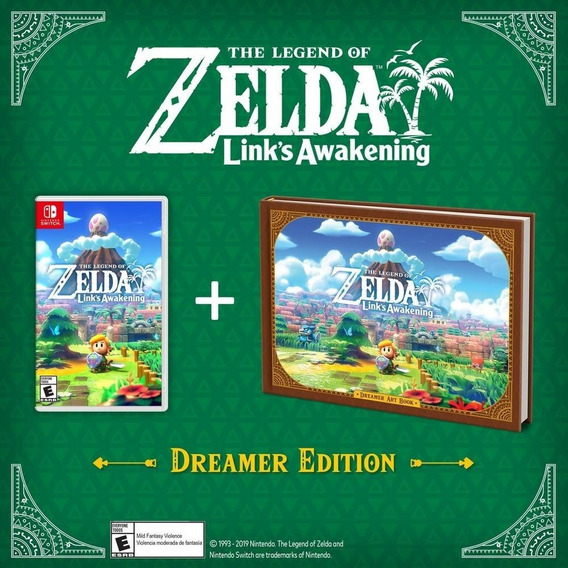 The Legend Of Zelda Links Awakening Dreamer Edition Switch