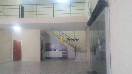 Imagem 1 de 7 de Salão Para Alugar, 170 M² Por R$ 5.000,00/mês - Centro - São Bernardo Do Campo/sp - Sl0133