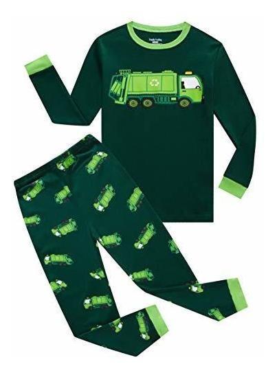 Pijamas De Niã±os Pequeã±os Con Sensaciã³n Familiar. P