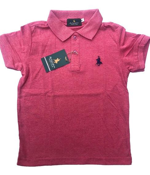 Playera Polo Club Of Berkshire, Adolescentes /varios Colores