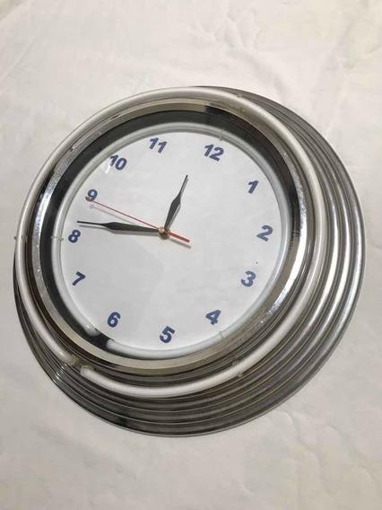 Reloj De Pared De Neón