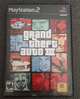 Grand Theft Auto 3 (iii) Playstation 2 Ps2
