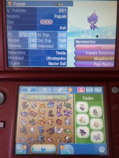 Pack 10 Pokémon Sol Luna O Ultra Sun Moon Nintendo 3ds