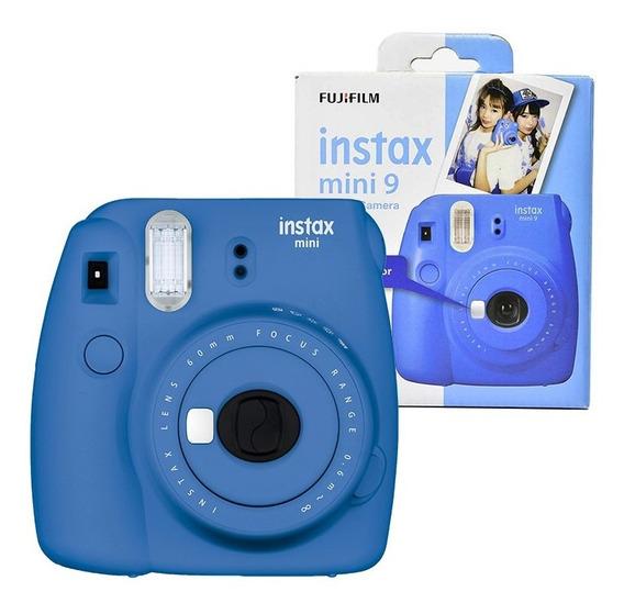 Câmera Instax Mini 9 Azul Cobalto - Fujifilm