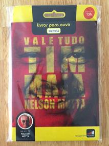 Audiolivro Cd Mp3 Tim Maia Vale Tudo Nelson Motta 1ª Edição!