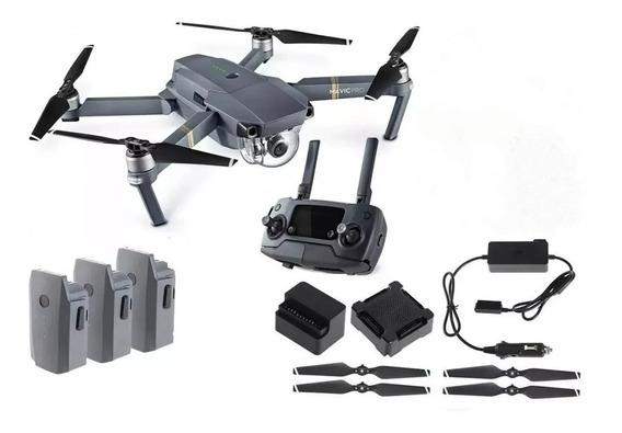 Drone Dji Mavic Pró Completo 3 Baterias Usado 20 A 30 Vezes