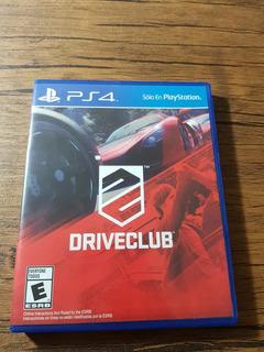 Driveclub Playstation 4 Ps4 Excelente Estado !!