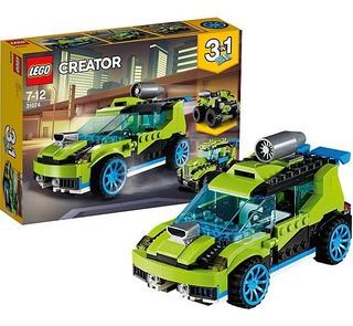 Creator Coche Rally A Reaccion Int 31074 Original Lego