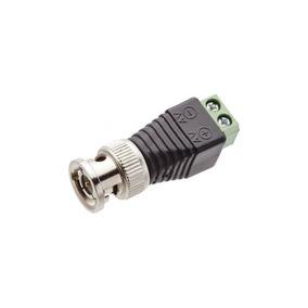 Conector Plug Bnc Macho Com Borne - Storm