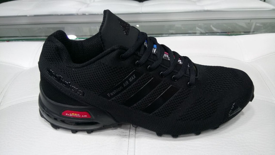 Tenis Fashion Air Max Negro Hombre Zapatillas Original