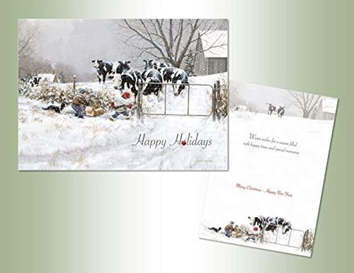 Imagen 1 de 2 de Caja De 18tarjetas De Navidad