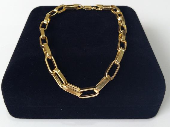 Pulseira Cartier Elos Longos Ouro 18k, 22,5cm, Certificado