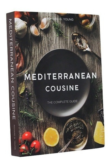 Livro Book Box Mediterranean Cousine 36x27x5cm