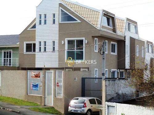 Sobrado Com 3 Dormitórios À Venda, 146 M² Por R$ 600.000,00 - Boa Vista - Curitiba/pr - So0034