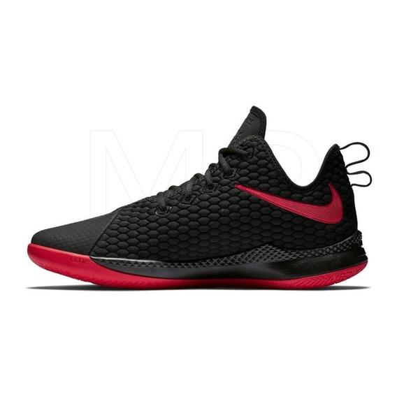 Tenis Nike Lebron Witness Iii Negro C/rojo Mx Original
