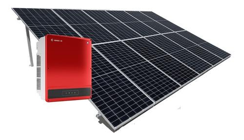 Imagen 1 de 6 de Kit 12 Paneles Solares 400w - Instalado - Genera 1270kwh Bim