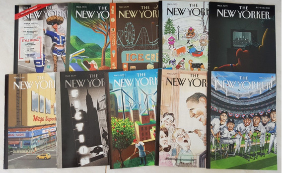 Lote 2 Revistas The New Yorker 2012/3/4 - 10 Revistas