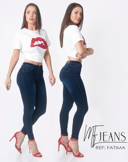 Jeans Mf Fatima By Fergino Corte Colombiano Push Up