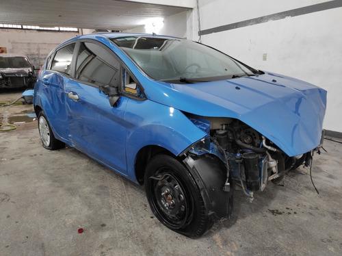 Ford Fiesta 1.6l 2017 Chocado Poloautos