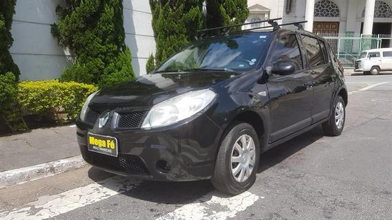 Renault Sandero Expression 1.0 16v Flex Completo Prata 2009