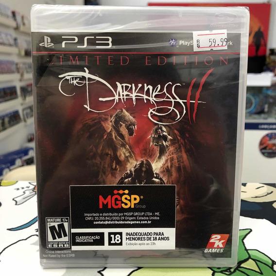 The Darkness 2 Ii Limited Edition Ps3 Novo Lacrado