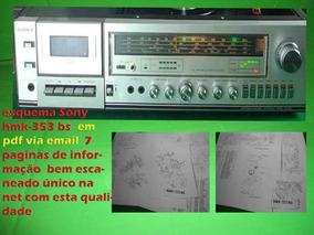 Esquema Sony Hmk353 Bs Hmk-353 Bs Hmk353bs Em Pdf Via Email