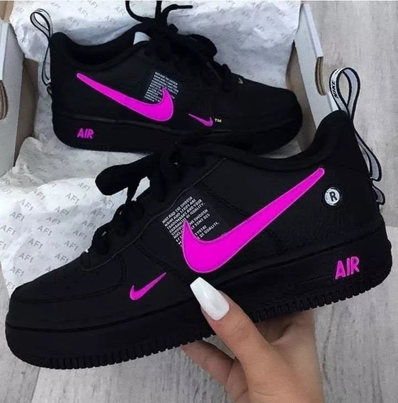 Tenis Niiike Air Force 1 Ultraforce Cores Tá Barato D+
