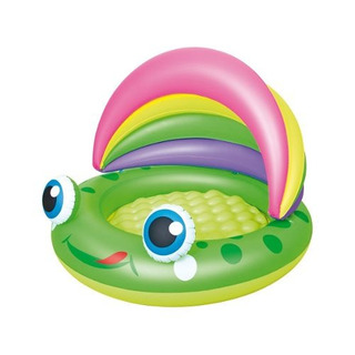 Pileta Techo Bebe Froggy 109 Inflable Bestway 2188