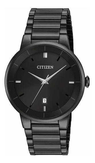 Reloj Citizen Bi5017-50e Chapado Iónico Negro