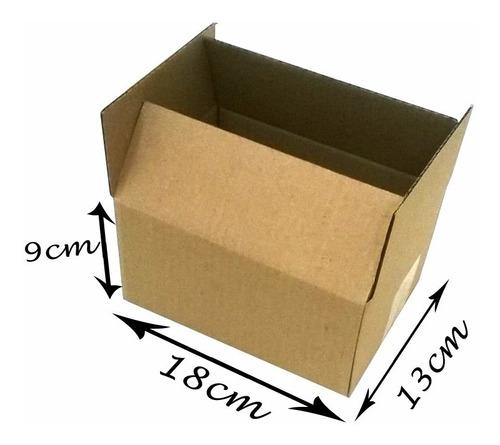 50 Caixas Papelão Mercado Envios Correios Pac Sedex 18x13x09