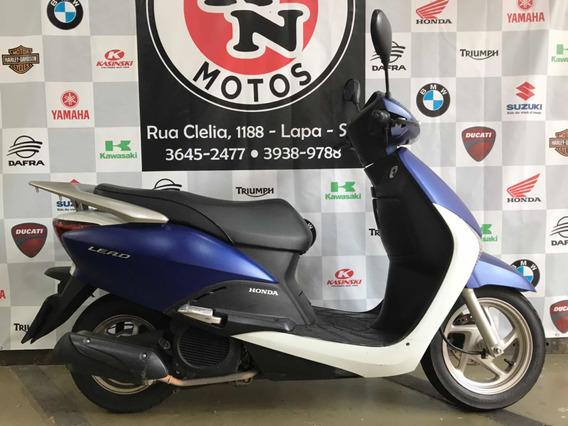 Honda Lead Delux 2016 Azul