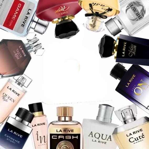 Kit 10 Perfumes Importados La Rive A Escolha Ganhe 1 Brinde