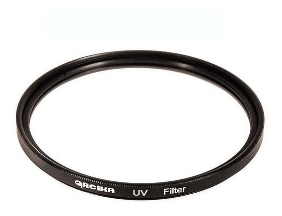 Filtro De Lente Ultravioleta 67mm Uv Greika P/ Canon Nikon