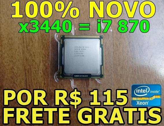 Intel Xeon X3440 2.53ghz = I7 870 ( Por R$ 115 * Leia )