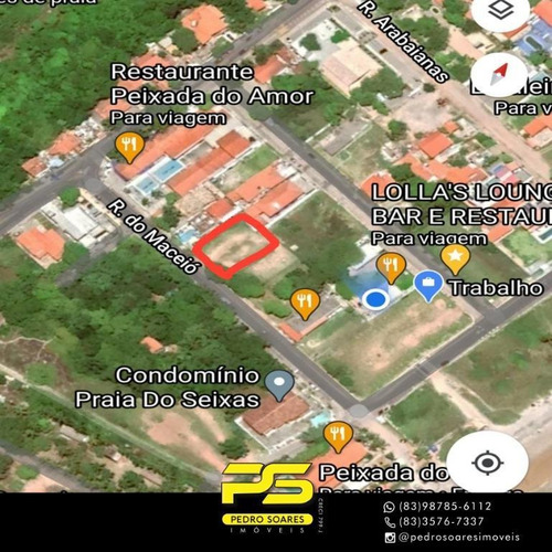 Imagem 1 de 1 de Terreno À Venda, 720 M² Por R$ 750.000,00 - Ponta Do Seixas - João Pessoa/pb - Te0190