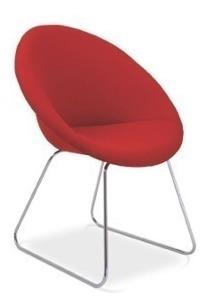 Cadeira Poltrona Decorativa Para Escritorio Sala Recepção