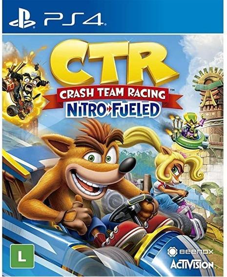 Crash Team Racing Nitro Fueled - Ps4 - Mídia Física Lacrado