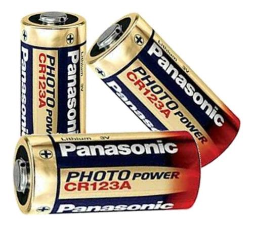 Imagem 1 de 3 de Bateria Photo Lithium Cr123a 3v Com Kit Com 5 Unidade
