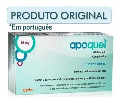 Apoquel 16mg - Bula Em Português C/nfe + Brinde (maio/2021)