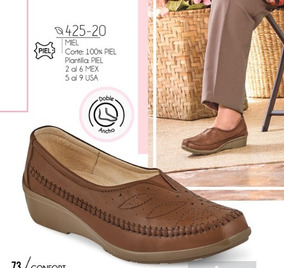 Zapato Casual Mujer Color Miel 425-20 Cklass Confort