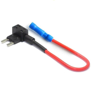Porta Fusible Mini Seguridad Adaptador 12v 10a