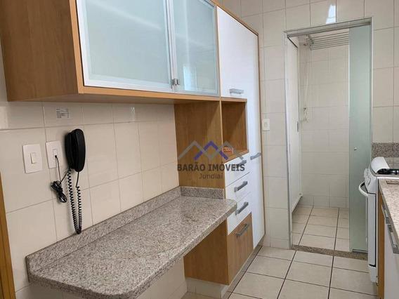 Apartamento Com 2 Dormitórios À Venda, 77 M² Por R$ 600.000,00 - Centro - Jundiaí/sp - Ap1582