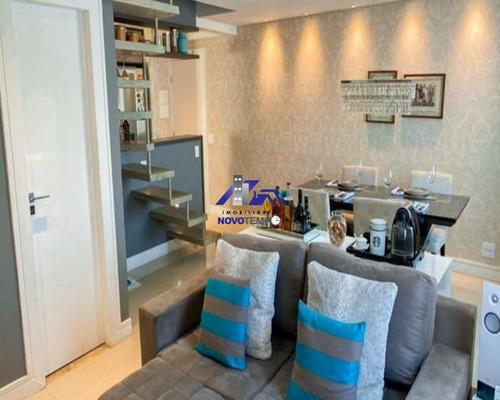 Imagem 1 de 24 de Apartamento A Venda Duplex Com 3 Dorms E 2 Vagas De Garagem - Ap00932 - 69245456