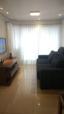 Apartamento Com 3 Dormitórios À Venda, 110 M² Por R$ 600.000 - Vila Valparaíso - Santo André/sp - Ap61762